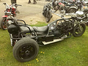 Photo: Another purely practical trike, the proof of design always in the riding..