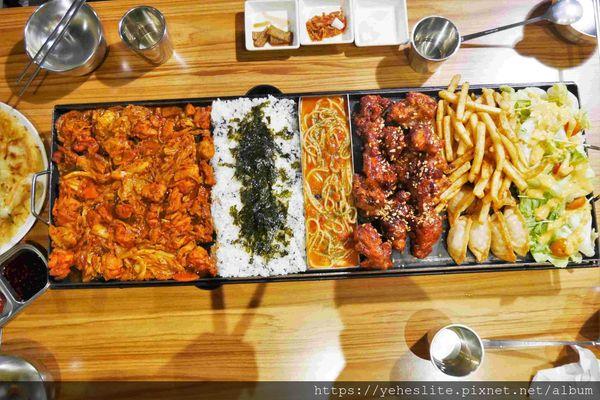 I'm Kimchi 韓式料理- 韓式拼盤搶視覺,調味炸雞最對味