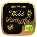 GO SMS GOLD BUTTERFLY THEME icon