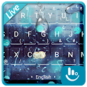 Live 3D Rain Drops Keyboard Theme icon