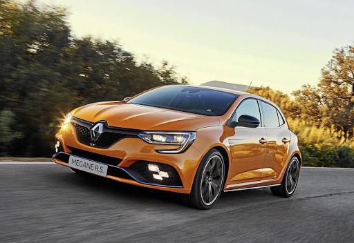 The new Megane RS is definitely a striking addition to the hot hatch segment. Picture: QUICKPIC