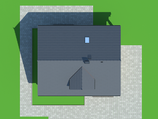 Dom mazurski dw - Sytuacja