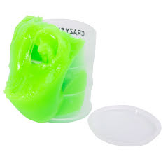 Slime, Crazy i oljecylinder Grön