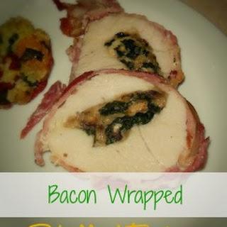 Mushroom & Spinach Stuffed Turkey Breast.