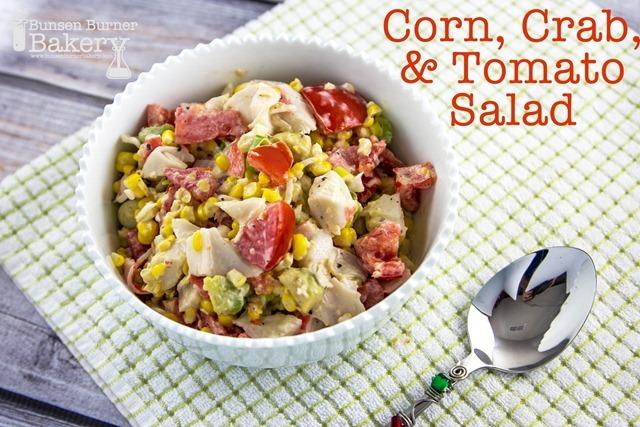 Corn, Crab, and Tomato Salad Recipe