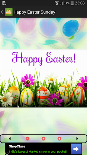 Happy easter sunday greetings apk download apkpure happy easter sunday greetings screenshot 9 m4hsunfo