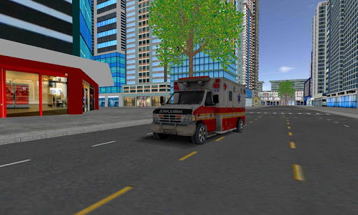 ambulance city parking