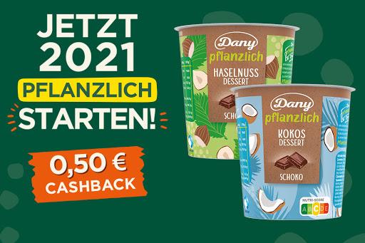 Bild für Cashback-Angebot: Dany Pflanzlich - Danone