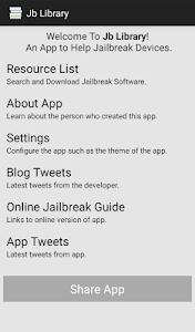 Jailbreak Library (Jb Library) screenshot 0