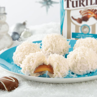TURTLES Toasted Coconut Snowballs