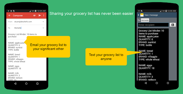 Grocery List Minder screenshot 6