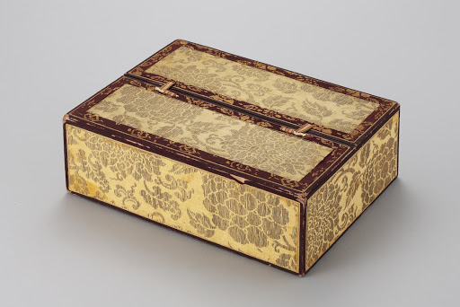 Jewelry Box for Pendant with Lotus and Peony Design of the Consort of Imperial Prince Yeong