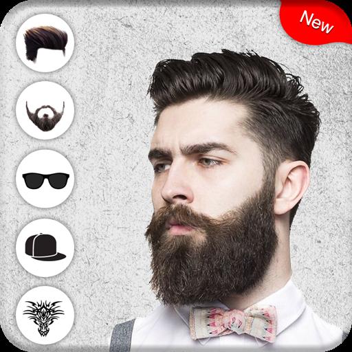Man Hair Style Mustache Man Photo Editor Apps Bei