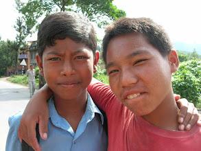Photo: Nepali boys