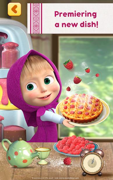 Masha and Bear: Cooking Dash screenshot 7