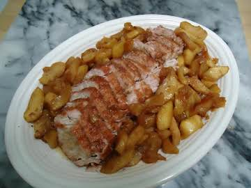 Norma's Pork Loin with Fried Apples