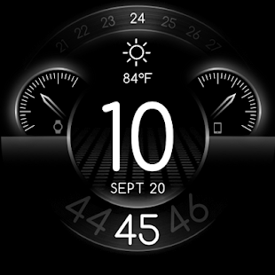 Toor - Watch Face for Android Wear Screenshot