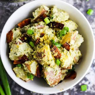 Vegan Bacon Ranch Potato Salad.