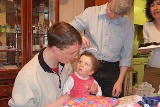 Photo: Cate listens intently to her Godfather