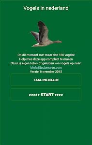 Vogels in Nederland screenshot 0