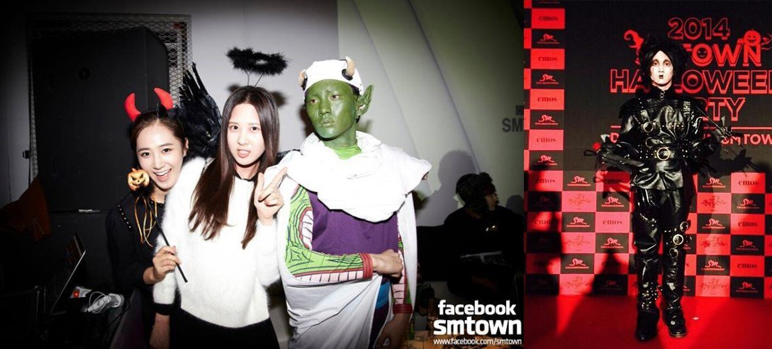 SHINee goes all out for SM Entertainment's Halloween parties