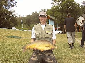 Photo: Koza Balázs, 7 kg-os ponty, 2007.