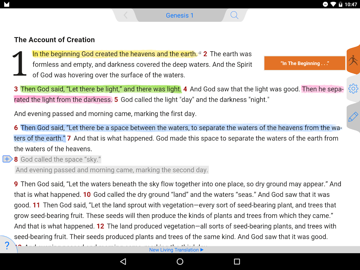 daily walk bible android apps on google play