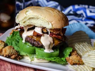 Alabama Beach Shack Burgers Recipe