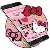 Kitty Princess Pink Butterfly theme