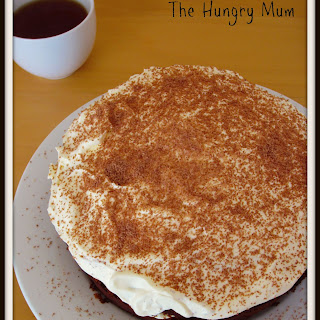 Honey Chocolate Rum Cake
