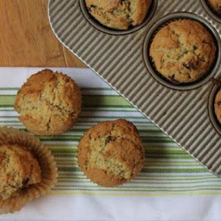 Chocolate Chip Zucchini Oatmeal Muffins