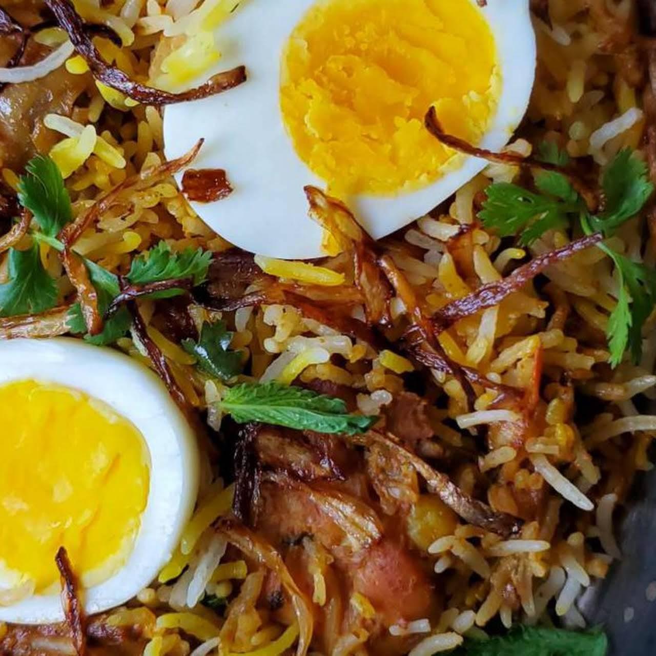 Chicken Dum Biryani (Pakki style)