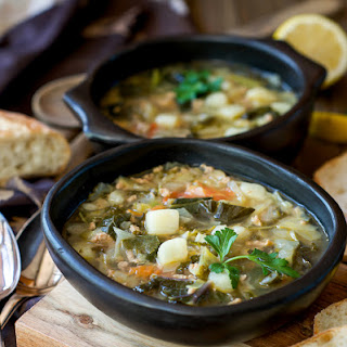 Ground Turkey and Vegetable Soup.