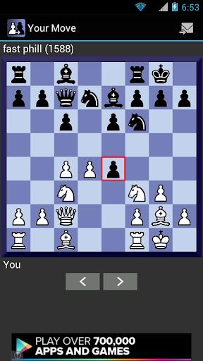 Your Move Correspondence Chess 1.4.10 screenshots 2