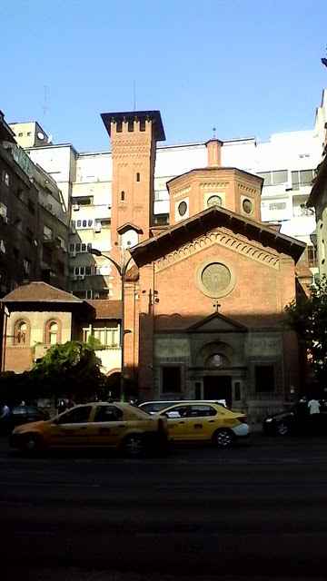 Italian Church in Bucharest