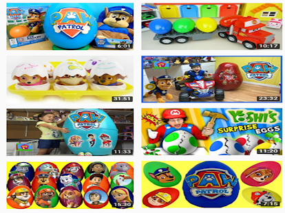 Toys Surprise Eggs Chase - náhled