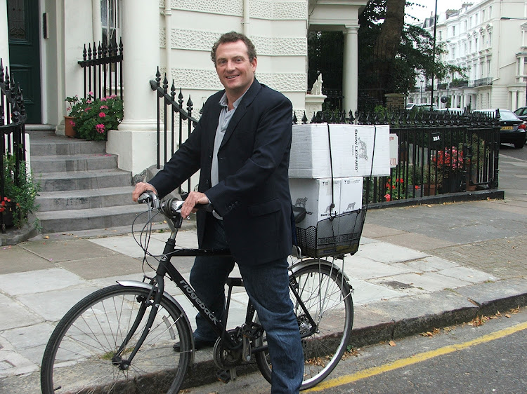 The first Snow Leopard Vodka headquarters were located in Stephen Sparrow's home in Notting Hill. He made his first deliveries to top London hotels and bars on 'Geronimo', the company bicycle.