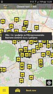 TaxiMetro Ljubljana - náhled
