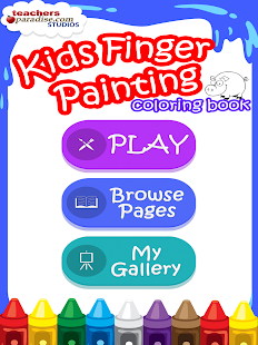 Kids Finger Painting Coloring- screenshot thumbnail