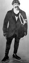 Photo: 1917 Coen de Koning in dit jaar voor de 2e keer winnaar van de elfstedentocht na zijn overwinning in 1912. Hij heeft aan het Heuvelplein gewoond in Princenhage