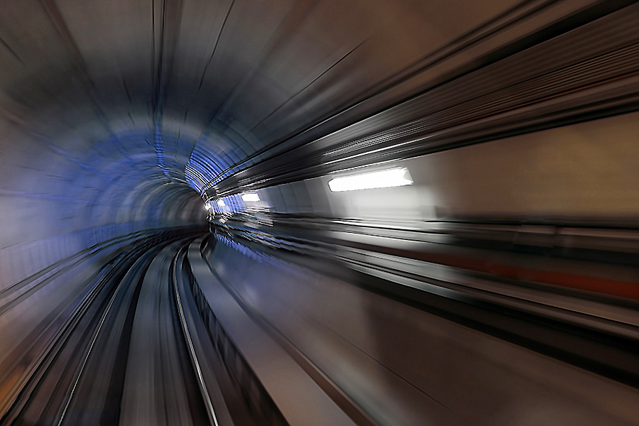 time tunnel by The Omegraph - Abstract Fine Art