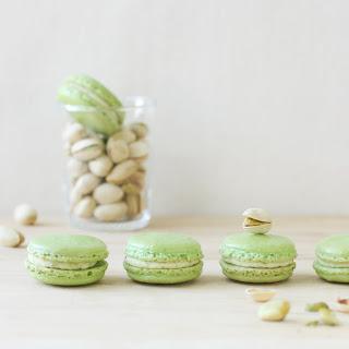 Pistachio Macarons.