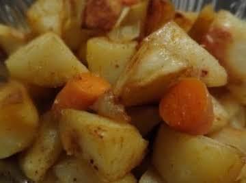 Portuguese Style Roast Potatoes