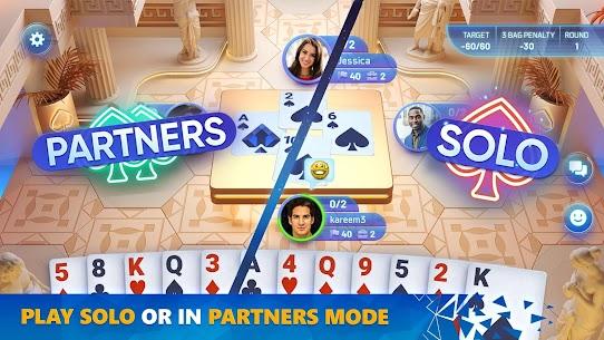 Spades Masters 1.003 MOD + APK + DATA Download 2