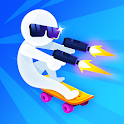 Stickman Skate 3D icon