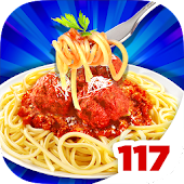 Meatballs Pasta Food Chef Game