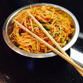 Spicy Asian Inspired Radish Apple Salad.