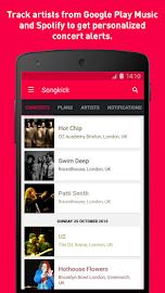 Songkick Concerts Screenshot 1