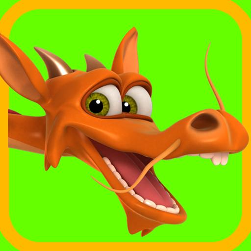 Talking 3 Headed Dragon 漫畫 App LOGO-APP試玩