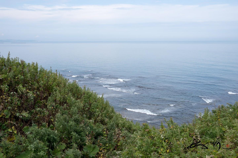 海と空が繋がるオホーツク海
